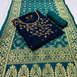 Banarasi Dupatta Fancy Salwar Suit-MJI27-2