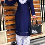Rayon Cotton Stitched Party Wear Palazzo Suit For Women-DESIGNK60