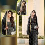 Astonishing Black Green Colored Party Wear Semi Stitched Net Ladies Salwar Suit-IN19-2