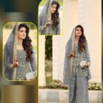 Eye-catching Grey Colored Party Wear Semi Stitched Net Ladies Punjabi Salwar Suit-IN19-4