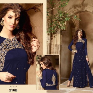 Fashion Ind Georgette Embroidered Suit