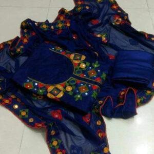 Patang chanderi cotton salwar suit 266K