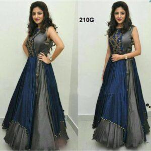 Fashion Ind Designer Indo Western Salwar Suit