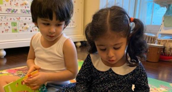 Kareena Kapoor Khan showers bask in on 'lovely' Inaaya on her birthday with a cute pic of her & Taimur reading